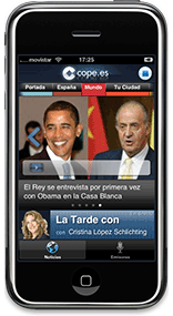 Cope.es for iPhone