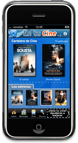 'En tu Cine' for iPhone