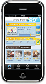 Restaurantes.com for iPhone